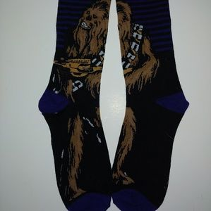 NWOT Chewbacca Star Wars Socks Medium Women Men